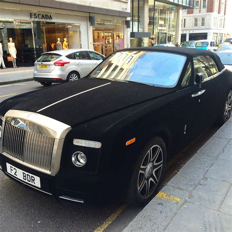 velvet rolls royce only in a velvet wrapped rolls royce the