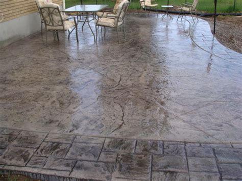 decorative concrete patio 28 images decorative