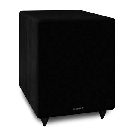 fluance db    frequency powered subwoofer
