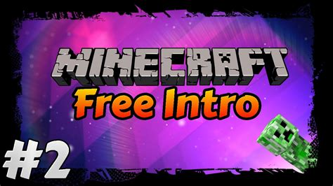free minecraft intro template free minecraft intro template 2 sony vegas