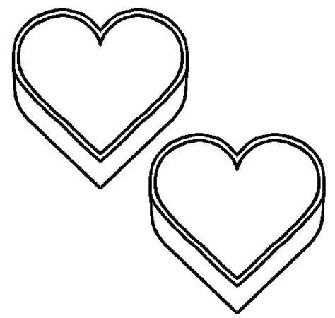 heart template coloring page printable heart coloring pages coloring part 4