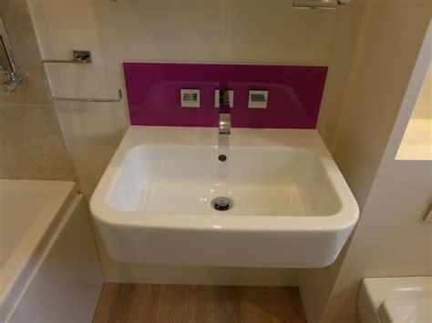 Bathroom Vanity Splashback Ideas Glass Splashbacks Style Within