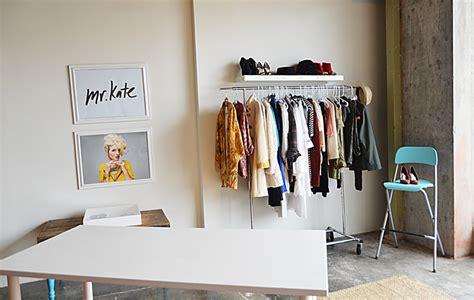 Fairy Lights For Bedroom - mr kate garment rack and floating shelf closet wall