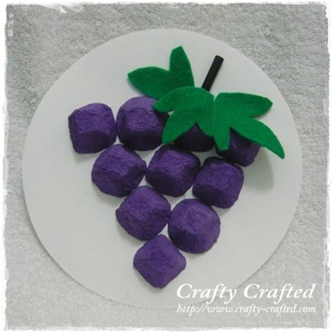 How To Make Paper Grapes - crafty crafted 187 archive crafts for children