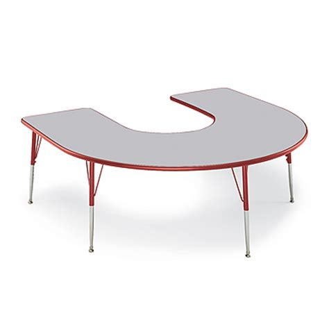 horseshoe table for classroom horseshoe activity table tables smith system