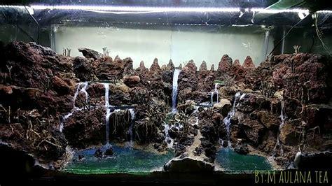 layout aquascape tema  lake  spilled  maulana tea