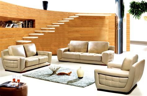 used leather living room set modern house