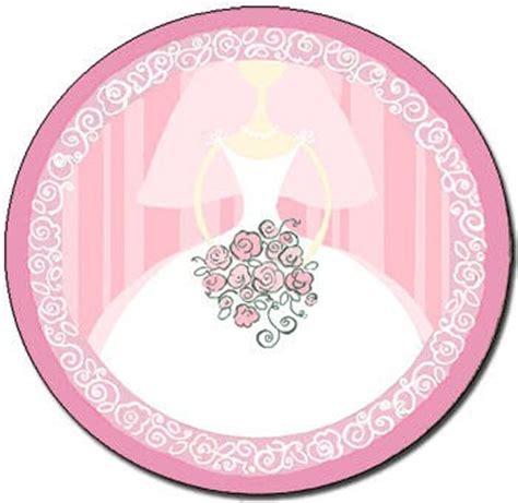 bridal shower paper plate modern bridal shower collection budget friendly