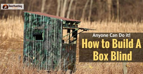 how to a blind how to build a deer blind how to build a deer stand tower