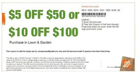 home depot printable coupons july 2017 printable coupons