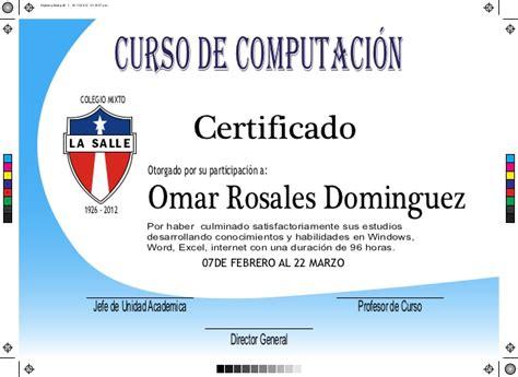 cursos de computacion a distancia diploma final