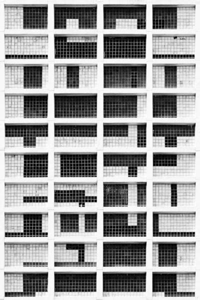 grid pattern concept grid within grid on architectural facade grids