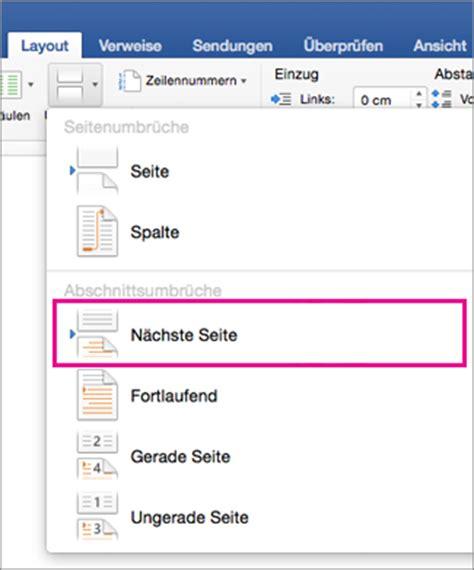 Word Vorlage Auf Jeder Seite Sp 228 Teres Beginnen Mit Der Seitennummerierung In Ihrem Dokument In Word 2016 F 252 R Mac Word For Mac