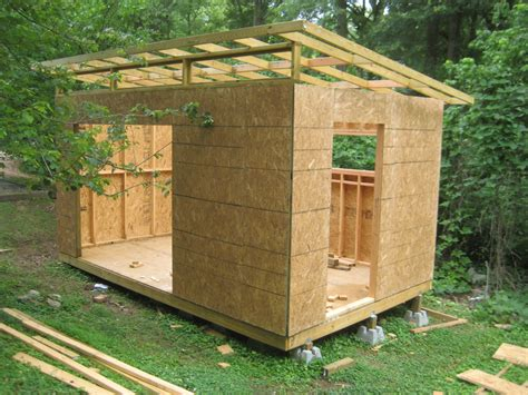 Backyard Building Ideas Diy Modern Shed Project Modern Wood Working And Backyard