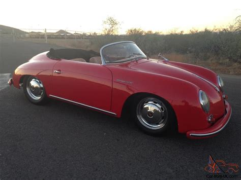 porsche speedster kit car porsche 356 speedster kit car no reserve 356 porsche