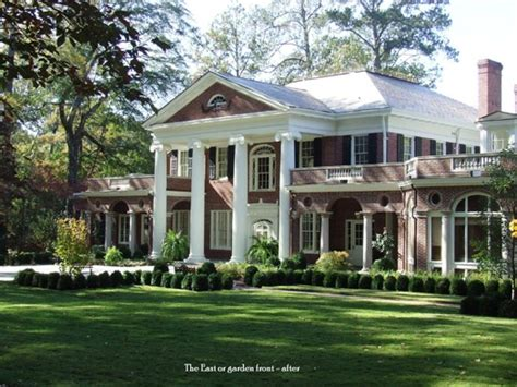 southern plantation style homes georgia southern plantations southern homes plantations