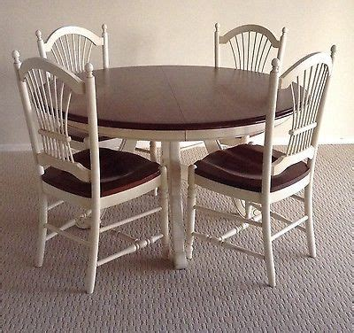 ethan allen country french dining room set  table