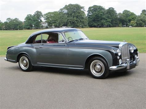 vintage bentley coupe 1956 bentley s1 continental coupe by park ward