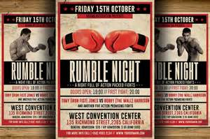 18 boxing flyer templates free psd ai vector eps