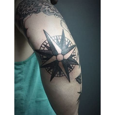 tattoo elbow meaning compass tattoo designs with meaning nautical compass