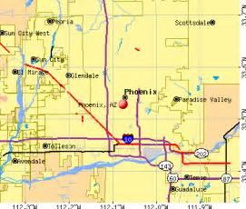 arizona az profile population maps real