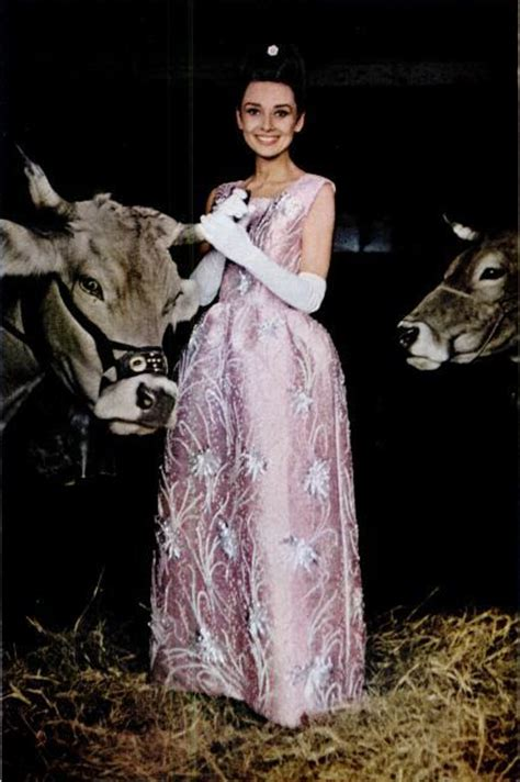 Dress Worn By Hepburn Sold For 920000 by Yehyehgrace Hepburn Wearing A Gown By Givenchy