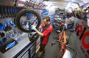Rv Storage Garage mobile bicycle maintenance makes bike repair easy bicycling