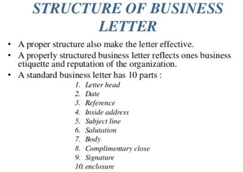 Parts Of Business Letter Slideshare business communication source of information and business