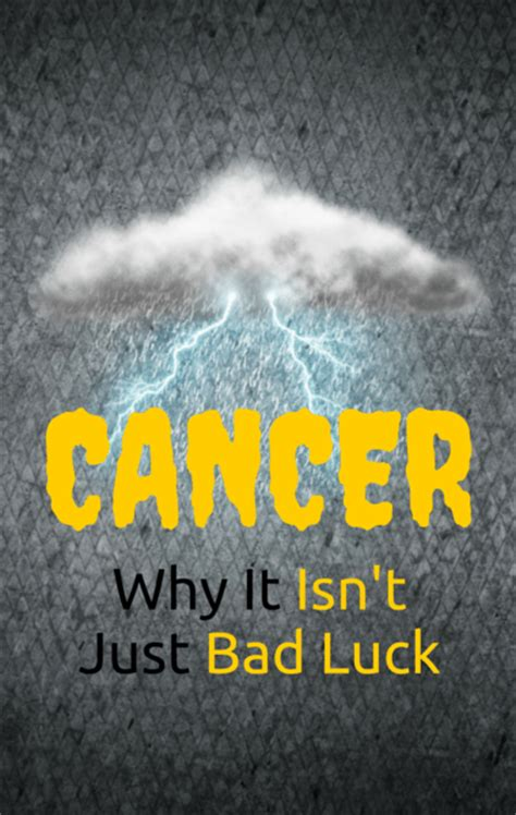 bad luck things dr oz is cancer just bad luck cancer fighting foods