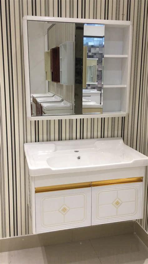 Cheap Modern Bathroom by Aolaisi Cheap Modern Style Bathroom Wall Vanity Cabinet