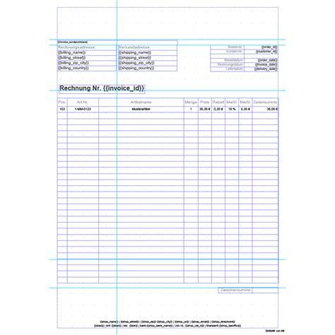 german invoice template invoice pdf pro standard invoice template german