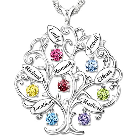 Mothers Necklace With Names 70th Birthday Gift Ideas For Mom Top 20 Gifts For Mothers Turning 70