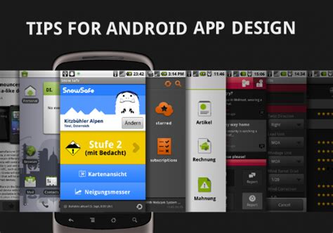 design app tips android apps design tips and best practices