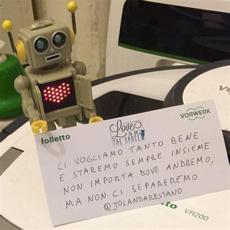 inguaribile romantica testo sam il robottino lancia biglietti d filastrocche
