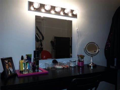 Makeup Vanity Mirror With Lights Ikea The World S Catalog Of Ideas