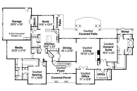 classic home floor plans classic house plans laurelwood 30 722 associated designs