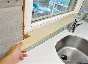 Cutting Window Sill Adding Toe Kicks A Window Sill House