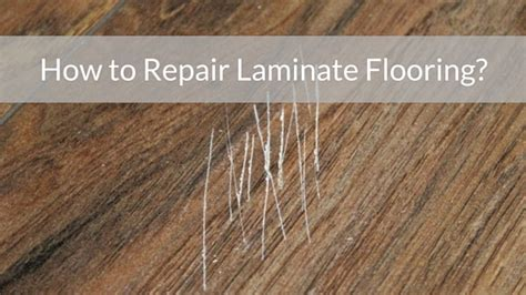 Repair Laminate Floor How To Repair Laminate Flooring