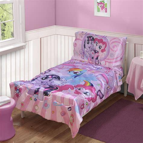pony  piece toddler girls bed set baby