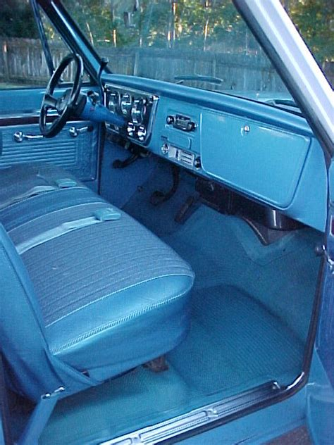 Ck Interiors by 1971 Chevy C10