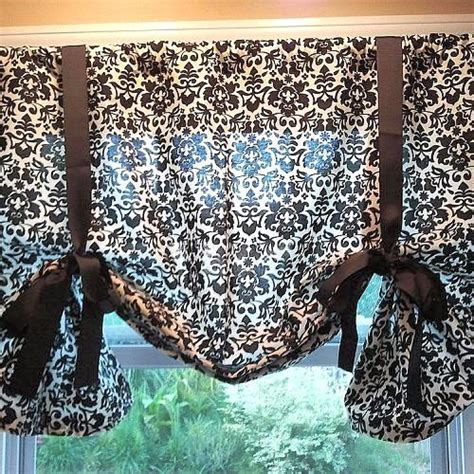 diy kitchen curtains diy no sew kitchen curtains
