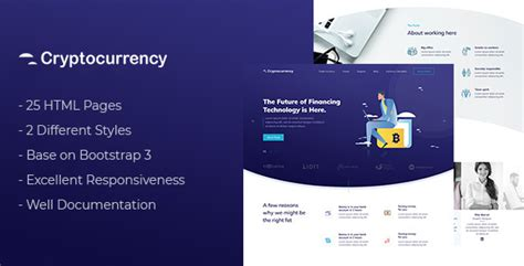 Cryptocurrency Html Template Download Cryptocurrency Html Template Nulled Cryptocurrency Html Template Free