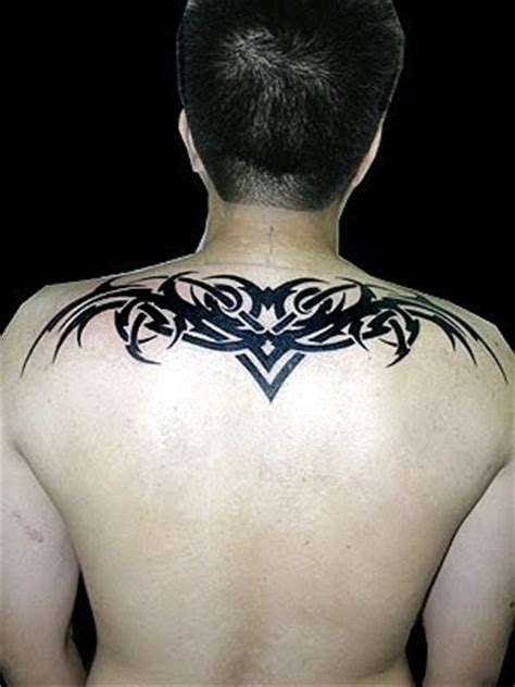 upper back tribal tattoos for men hair wallpapper back tattoos for tribal
