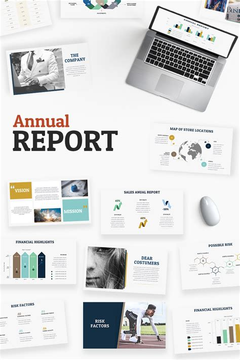 Annual Report Powerpoint Template 65493 Annual Report Ppt Template
