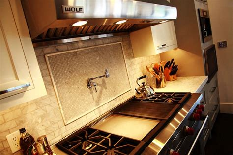 jeff lewis tile iridescent inlaid tiles contemporary kitchen jeff