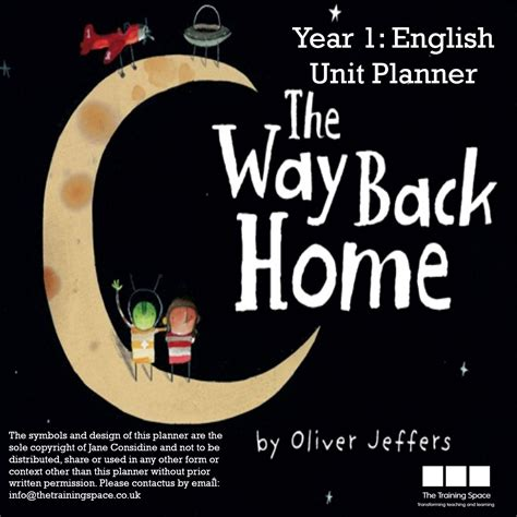 the way back home the way back home unit plan yr1 the training space