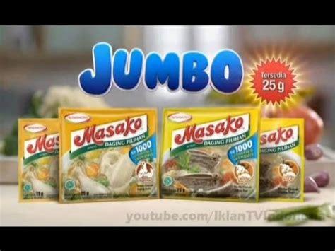 Jumbo Rubiah iklan masako jumbo 1000 rupiah