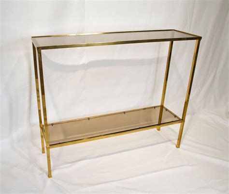 Brass Console Table Brass Console Table Joevin Ortjens Galerie