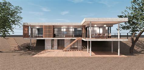 construction d une maison construction d une maison contemporaine suspendue mcc