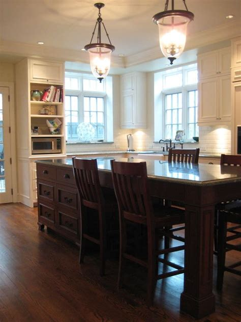 Kitchen Island With Seating On All Sides